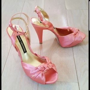 "Chinese Laundry ""Forget You"" Satin Heels"